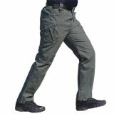 Murah Celana Panjang Kargo Warna Abu Tua Model Blackhawk Tactical Outdoor Hunting Pants Airsoft Fortunecloth Diskon 30