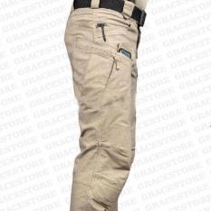 Beli Murah Celana Panjang Kargo Warna Krem Model Blackhawk Tactical Outdoor Hunting Pants Airsoft Fortunecloth Online
