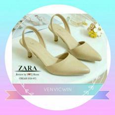 Murah Meriah Sepatu Zara NR 01 Cream