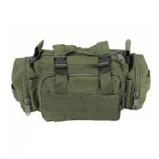 Beli Murah Tas Selempang Dan Jinjing Militer Army Tactical Sling Bag Or Waist Pack For Military Travel Green Army Lengkap