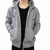 Harga Muscle Fit Jaket Hodie Zipper Unisex Origin