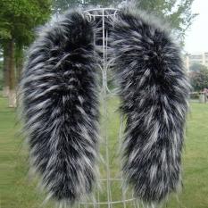Toko Musim Dingin Fashion Faux Fur Yang Mewah With Kerah Syal Syal Selendang Hangat Terdekat