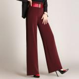 Harga Musim Gugur Baru Celana Panjang Lebar Kaki Celana 902 Merah Marun Oem Terbaik