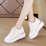 Tips Beli Sepatu Santai Sepatu Hak Perempuan 8Cm Musim Semi Emas Yang Bagus