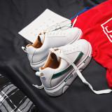 Diskon Musim Gugur Baru Papan Sepatu Sepatu Kets Putih Model Wanita Hijau Tiongkok