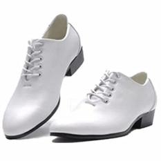 Musim Semi atau Musim Gugur Baru Gaun Pengantin Studio Kamera Sepatu Pria (6308 Warna Tidak Mengkilap Putih)