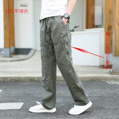 Toko Celana Panjang Musim Panas Muda Celana Cargo Pria Ukuran Besar 2012 Hijau Tentara Warna Oem