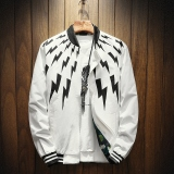 Jual Beli Musim Gugur Dan Musim Dingin Korea Fashion Style Hoodie Pria Jaket H19 Bagian Tipis Putih Jaket Pria Jaket Bomber