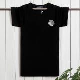 Dewasa Muda Ukuran Plus Kode Atasan T Shirt Lengan Pendek Steller Hitam Promo Beli 1 Gratis 1