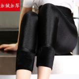 Toko Musim Gugur Dan Musim Dingin Mm200 Tambah Beludru Perempuan Pakaian Luar Ukuran Plus Bottoming Celana Celana Tambah Beludru Lebih Tebal Model Baju Wanita Celana Wanita Dekat Sini