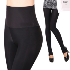 Toko Musim Gugur Dan Musim Dingin Sutra Es Perempuan Permukaan Halus Tidak Injak Kaki Sembilan Poin Celana Legging Hitam Injak Kaki Baju Wanita Celana Wanita Dekat Sini
