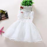 Beli Musim Panas Anak Anak Kasa Rok Gaun Putih Other