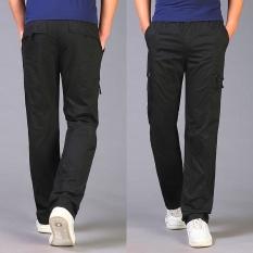 Iklan Celana Cargo Musim Panas Bagian Tipis Celana Panjang Pria Longgar 290 Hitam Celana Pria Celana Panjang Pria Celana Chino Celana Cargo