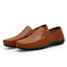 Review Tentang Kulit Pria Ukuran Besar Sepatu Kulit Sepatu Pria Merah Coklat