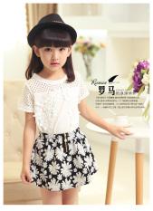 Promo Musim Panas Gadis Kasual Lengan Pendek Gadis Kecil Jas Gambar Warna Other Terbaru