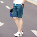Toko Beberapa Celana Sedang Kasual Celana Pantai Laki Laki Musim Panas Longgar Danau Biru Yahe Di Tiongkok