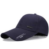 Spesifikasi Musim Panas Luar Ruangan Panjang Matahari Topi Bisbol Topi Topi Biru Tua Baru