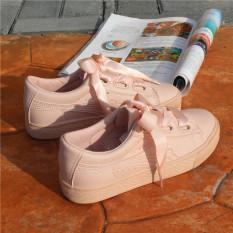 Musim Panas Perempuan Baru Kanvas Sepatu Sepatu Kets Putih (Merah Muda Warna) Sepatu wanita Sepatu sport sepatu sneakers wanita