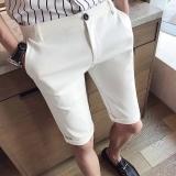 Harga Musim Panas Pria Kelima Celana Putih Fullset Murah