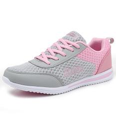 Sepatu Cortez Nike Musim Semi Baru Sepatu Lari Perempuan Ringan (958 Bubuk Abu-abu)