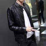 Jual Jaket Pria Model Pendek Membentuk Tubuh Versi Korea Hitam Hitam Online Tiongkok