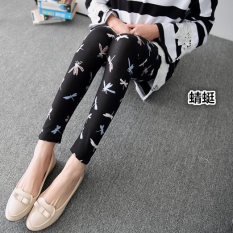 Diskon Tuan Cool Multi Color Female Outerwear Ankle Length Pants Spring Leggings Capung Tiongkok