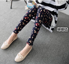 Spesifikasi Tuan Cool Multi Color Female Outerwear Ankle Length Pants Spring Leggings Kupu Kupu Simpul Terbaru