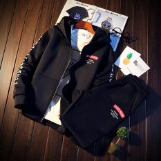 Harga Korea Fashion Style Ditambah Beludru Mahasiswa Layanan Kelas Kebugaran Celana Berkerudung Pullover Sweater Dj829 Hitam Baju Atasan Sweter Pria Di Tiongkok