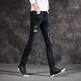 Musim Semi Dan Musim Gugur Pria Slim Celana Kaki Gambar Warna Tiongkok Diskon