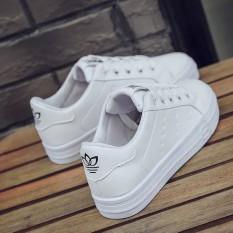 Musim Semi Dan Musim Panas Baru Sepatu Wanita Sepatu Kets Putih (Putih)