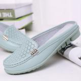 Toko Jual Sandal Tergelincir Musim Semi Sepatu Sandal Nyaman Perempuan 277 Cahaya Bulan
