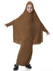 Muslim Perempuan 'S Gaun Malaysia Perempuan Jubah Arab Kostum Anak Dubai Perempuan Gaun Setelan-Unta-Internasional