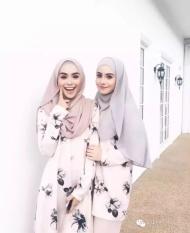 Muslim Sorban Bergaya Masker Dalam Bahasa Melayu) Pearl Chiffon Pure Color Long Handuk Huizu Islam Cover End CLAMP, 22 Gigi Pucat Pink-Intl