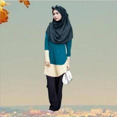 Muslim Wanita Pakaian Max Ukuran Kostum Islami Kostum Arab Melayu Kaos-International