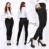 Diskon Muthia Celana Jeans Wanita Premium Quality Celana Jenas Skinny Hm004 Black Akhir Tahun