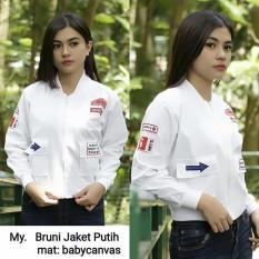 My Jaket Bruni Jaket Putih