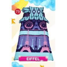 Jual My Love Bedcover Set Single 120X200 Ukuran King Set Motif Eiffel Singlepremium Lembut Antik