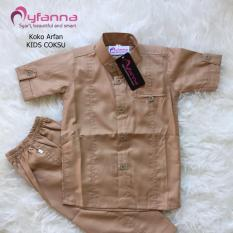 Myfanna Koko Arfan Setelan Baju Muslim Anak