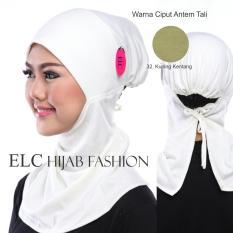 Mysha Hijab - Ciput Antem Tali - Kuning Kentang by ELC