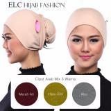 Beli Mysha Hijab Ciput Arab Mix 12 By Elc Get 3 Pcs Kredit