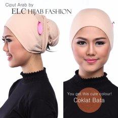 Mysha Hijab - Ciput Arab - No. 13 Coklat Bata
