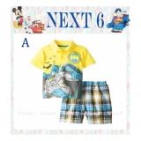 Dapatkan Segera N 6A Pakaian Anak Laki Laki Baju Setelan Kaos Batman