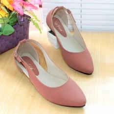 Jual Nafiza Flatshoes Flat Shoes Pdh06 Peach Grosir