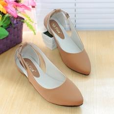 Jual Nafiza Flatshoes Flat Shoes Pdh06 Tan Branded
