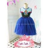 Spesifikasi Nak 5K Pakaian Anak Perempuan Baju Dress The Frozen Yang Bagus
