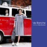 Review Tentang Nana Blanche Filo Dress Tunik Wanita 922 Navy