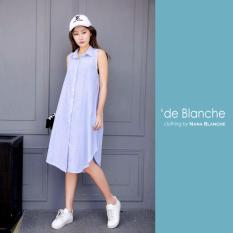 Spesifikasi Nana Blanche Rania Drees Tunik Wanita 921 2 Soft Blue Yg Baik