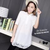 Harga Nana Blanche Sheeva Blouse Tunik Bordir Premium Wanita 220 White Online Jawa Barat