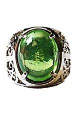 Jual Naroosouve Cincin Pria Batu Green Quartz Baturaja Natural
