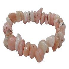 Spesifikasi Naroosouve Gelang Batu Coral Veins Soft Pink Terbaik